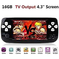 ANBERNIC Handheld Spielkonsole , 4.3 Zoll 3000 Retro Spielkonsole Konsole TV Output , Support GBA /GBC GB / SEGA / NES / SFC / NEOGEO