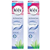Veet Cream Sensitive Skin - 100 g (Pack of 2)