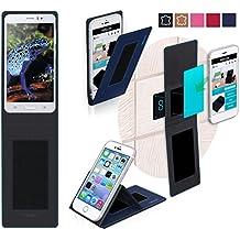Funda para Jiake N9200 en Azul - Innovadora Funda 4 en 1-Anti-Gravedad para Montaje en Pared, Soporte de Smartphone en Vehículos, Soporte de Smartphone - Protector Anti-Golpes para Coches y Paredes sin necesidad de herramientas o pegamento - Funda de Reboon para Jiake N9200 Original