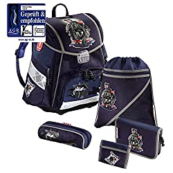 Step by Step - Schulrucksack Set 5 tlg. - Pirate Ship