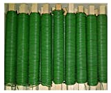 (0,01€/m) 25 Rollen Wickeldraht Bindedraht Basteldraht grün lackiert 0,65mm Draht