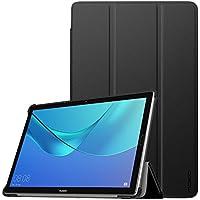 MoKo Custodia Huawei MediaPad M5 10.8/M5 Pro 10.8 - Custodia ultra sottile e leggera con cover sottile per Huawei MediaPad M5 10,8/M5 Pro 10.8 pollici, tablet 2018 con funzione Auto Wake/Sleep, nera