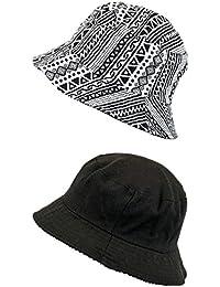 PETER RUTZ Fischerhut mit verschiedenen Mustern One Size