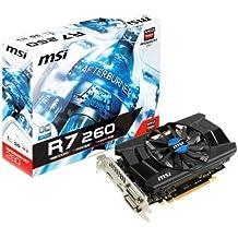 MSI V293-026R GRA PCX MSI R7 260 1GD5 OC NVIDIA Grafikkarte (PCI-e, 1GB GDDR5 Speicher, HDMI, DVI, DisplayPort, 1 GPU)