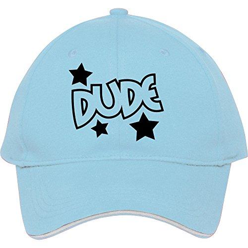Männlich/weiblich Baumwolle Baseball Cap Outdoor Casual Snapback Kappen hatsdude Star donfar, damen unisex Herren, hellblau
