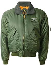 MA2/MA1 piloto ejército militar vuelo Bomber Jacket combate Coat Men