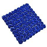 Tininna Duftseifen in Form von Rosen, Duftende Bade-Seifen, Rosa, in Box Gr. Freie Größe, dunkelblau