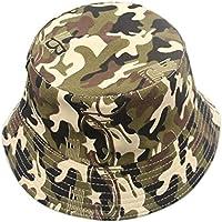 1X Toruiwa Sonnenhut Kinder Bunt Faltbarer Einstellbar Fischerhut breiter Krempe Hut Strand Hüte Anti UV Hut für Frühling Sommer Urlaub Strand Garten