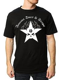 Famous Stars and Straps Men's Dirty Black Summer T Shirt Black