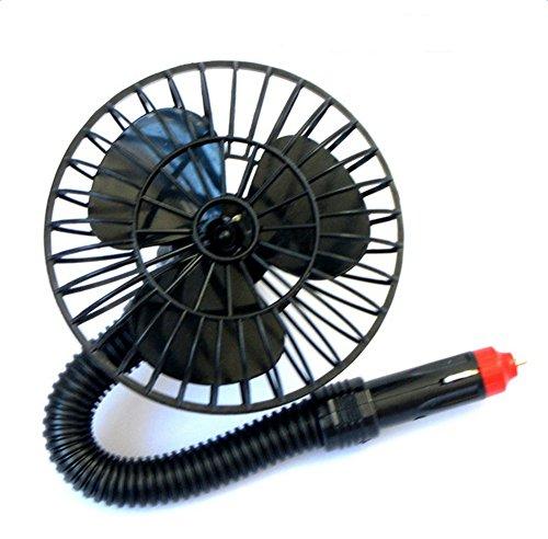 Daorier Ventilateur de voiture fan de voiture Allume-Cigare 12V Alimenté 1PC