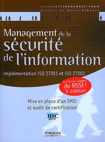 Management de la scurit de l'information. Implmentation ISO 27001