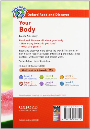 Oxford Read and Discover 2. Your Body Audio Pack