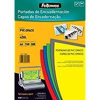 Fellowes 936641 - Copertine en PVC 100 pezzi, blu opaco -  Confronta prezzi e modelli