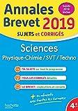 Annales Nouveau Brevet 2019 Physique-Chimie-SVT...