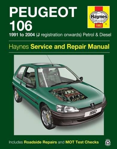 Peugeot 106 por Haynes Publishing
