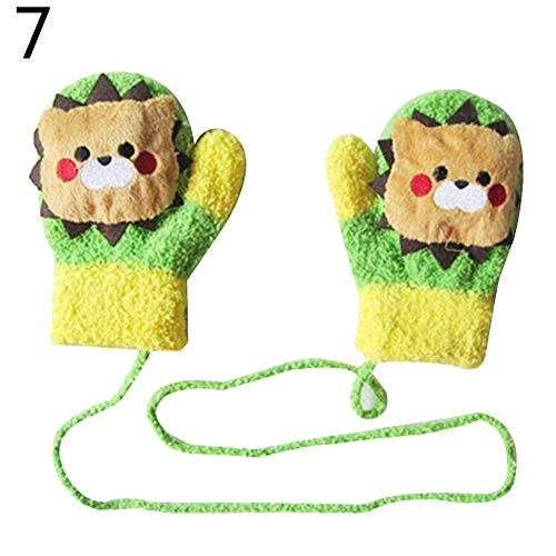 Carry stone Premium Qualität Winter Handschuhe, Cartoon Kaninchen Lollipop Auto Baby Unisex Sound Handschuhe verdicken warme Winter Handschuhe 7