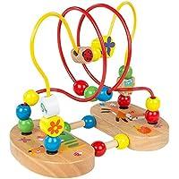 ColorBaby - Laberinto con figuras de madera y ventosas (43631)