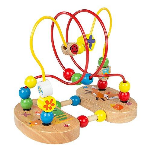 ColorBaby - Laberinto con figuras de madera y ventosas...