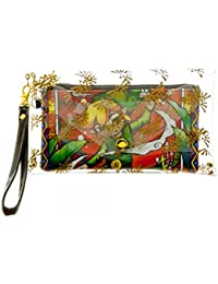 Nintendo Zelda Link Chain Wristlet Wallet with Clear Envelope Pouch