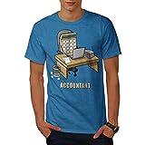 wellcoda Buchhalter Job Männer 3XL T-Shirt