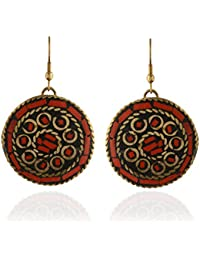 CHICAS Multicolor Fashion Stylish Party Wear Ethnic Dangle & Drop Earring For Women & Girls