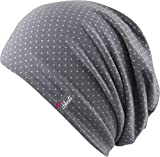 Florence - trendige leichte Mütze Sommer Mütze für Damen und Herren (grey / white)