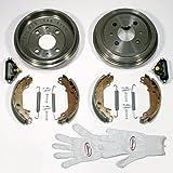 Autoparts-Online Set 60009508 Bremstrommeln/Bremsen + Bremsbacken + Radzylinder + Zubehör Hinten