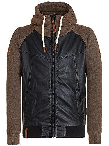 Naketano Male Jacket Bück Dich Bruder III Black
