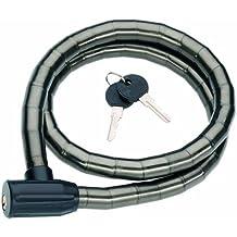 Point G61 - Candado antirrobo para bicicleta (100 cm), color negro
