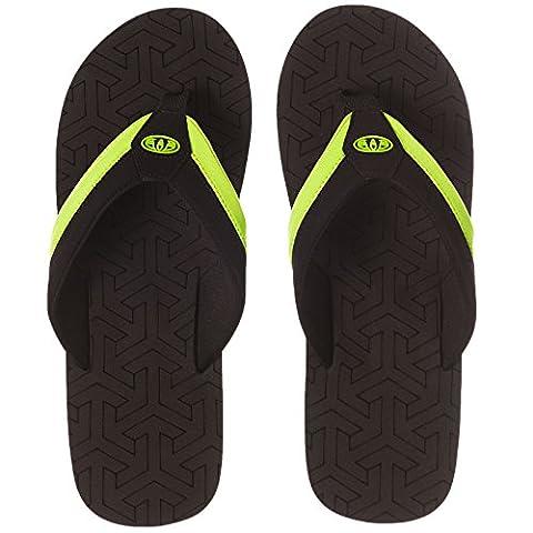 Animal Jekyl Slim Flip Flops - Lime