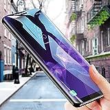 Verre Trempé Galaxy S9 Plus, Samione Protection Écran Galaxy S9 Plus Film Protection en écran Protecteur Vitre Couverture Complète Anti-rayure Glass Screen Protector pour Samsung Galaxy S9 Plus, Transparent