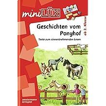miniLÜK: Geschichten vom Ponyhof: Texte zum sinnentnehmenden Lesen ab Klasse 2