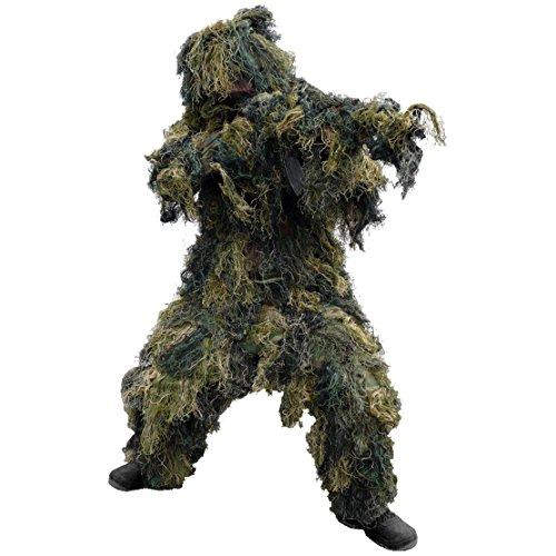 Mil-Tec Ghillie Suit 4-tlg. Woodland Größe -