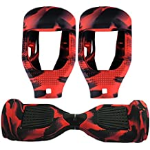 Coque Hoverboard Housse Silicone Protection pour Hoverboard 6,5 pouces 2 Roues Pour Hoverboard 6,5 pouces Scooter Auto Balance