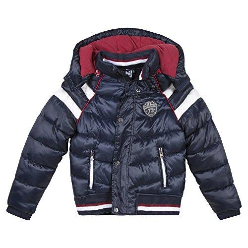3 Pommes Boy's Blouson Jacket, (Bleu Foncé), 3-4 Years (Size: 3A/4A)