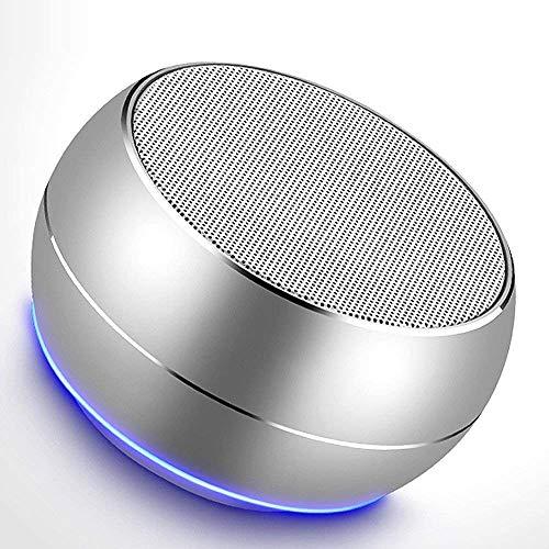 ZUZU Tragbare Bluetooth-Speakers mit HD Audio und Enhanced Bass, eingebautes Speakerphone für iPhone, iPad, BlackBerry, Samsung und mehr (Schwarz),Silver Schwarz Portable Speaker