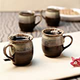 Unravel India Ceramic Studio Mug Set (Set Of 6)