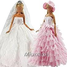 Barbie en robe de mariee