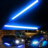 AutoStuff Universal Daytime Running Lights for Cars, Ice Blue