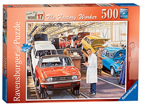 Ravensburger Happy Days at Work No.17 - The Factory Worker Puzzle 500 Teile -