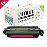 1x MWT Remanufactured Toner für HP Color LaserJet CP 3525 X DN N ersetzt CE253A