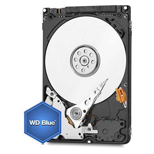 WD Blue 2 TB interne mobile Festplatte 2,5 Zoll (SATA, 5400 U/min, 6 Gb/s) bulk