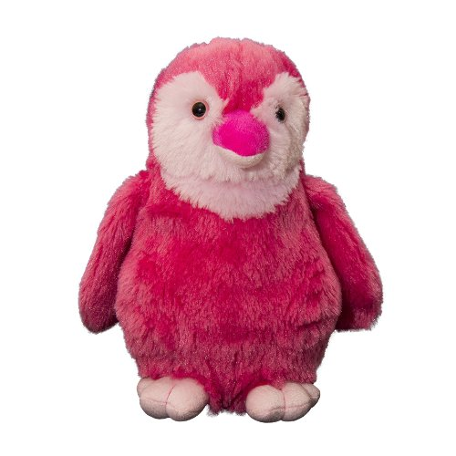 Wild Planet - All About Nature - K7686 - Peluche - Penguin - Rose - 20 Cm