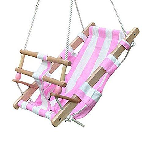 Babyschaukel verschiedene Farben, Babyschaukel:pink/weiß