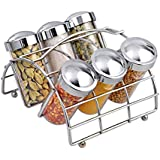 Disha EOAN Chrome 6 Jar Spice Rack (EN-001)