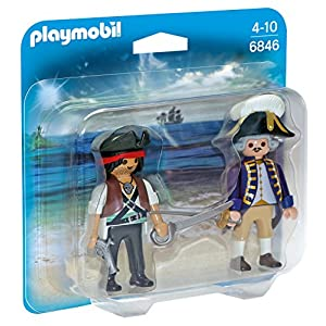Playmobil 6846 Collectable Pirate and Soldier Duo Pack