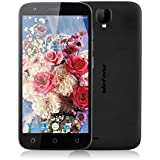 "Ulefone U007 Pro - Smartphone libre 4G Android 6.0 (Pantalla 5.0"", Cámara 8.0 Mp, 8GB ROM, 1GB RAM, Quad Core 1.3GHz, Dual SIM), Negro"