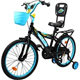 Hollicy Sigma 20 Plastic Bicycle, Kids 20-inch (Blue/Black)
