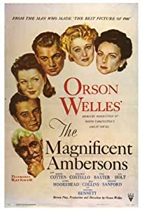 The Magnificent Ambersons - Movie Poster - 69x102 cm