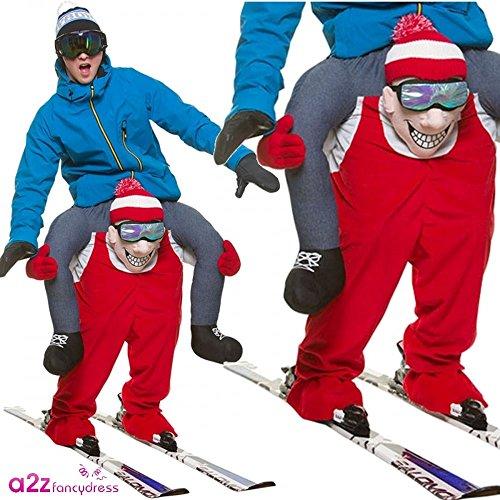 Disfraz a Hombros Esquiador Adulto